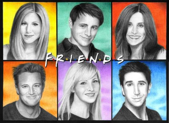 Friends por kitsunegari16